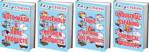 4 Cleaning Product Books